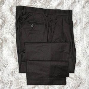 Ralph Lauren Pleated Cuffed Trouser